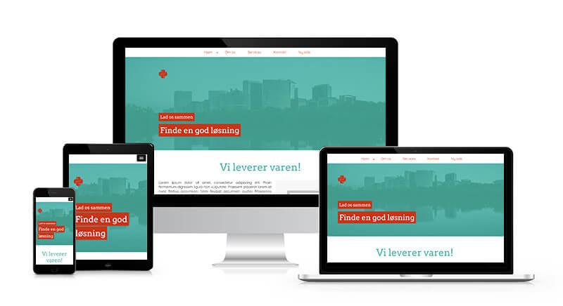 Gratis hjemmeside med Nemme Hjemmesider | 100 % gratis hjemmeside